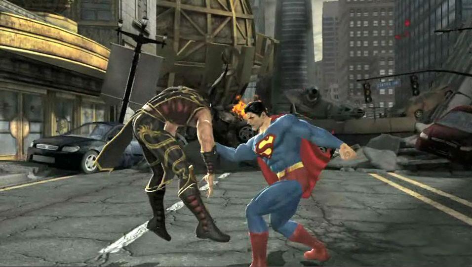 Mortal Kombat VS DC Universe ukazuje krv