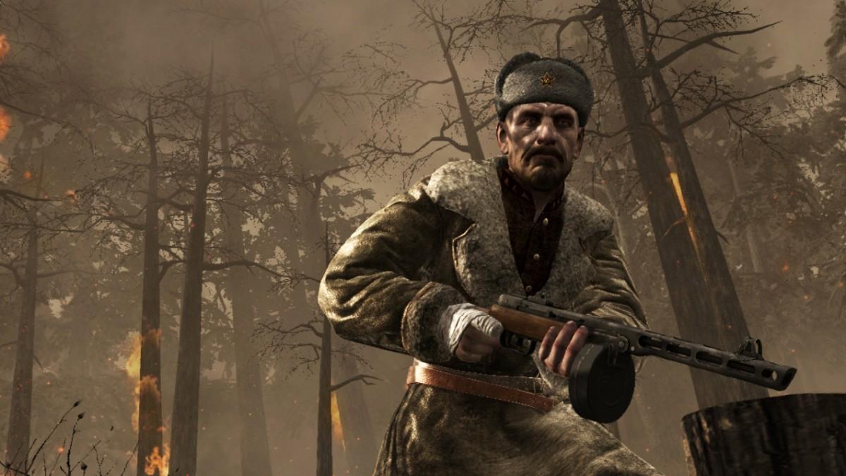 Call of Duty na dramatických obrázkoch