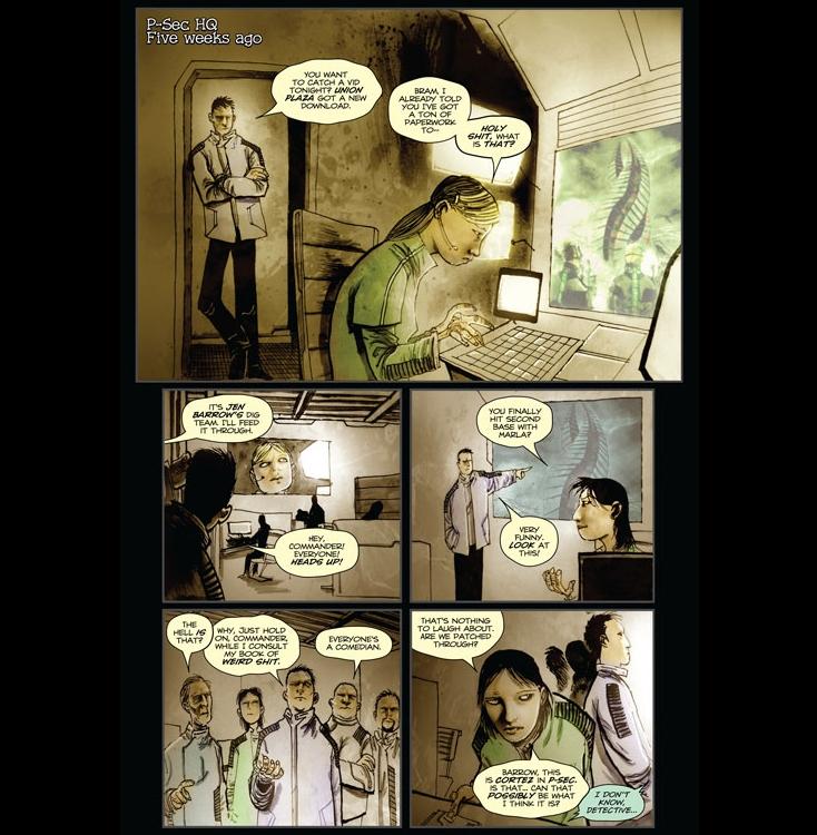Dead Space komiks