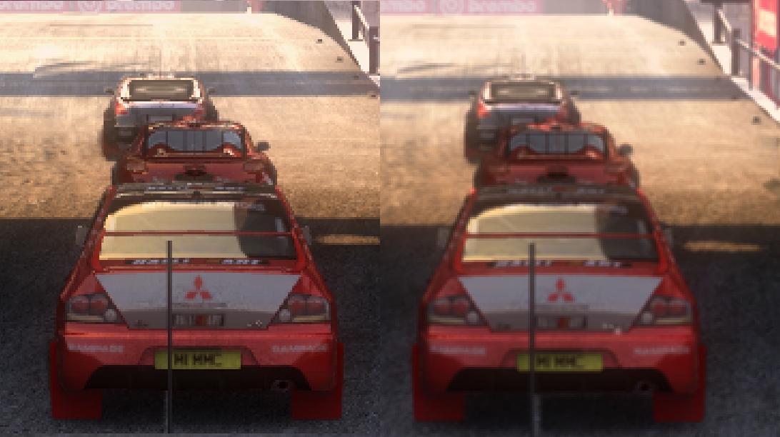 Dirt 2 DX9 vs DX11