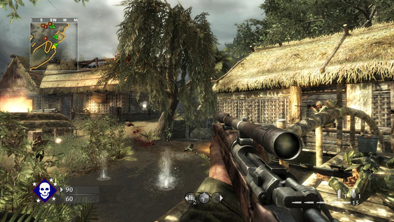 Call of Duty 5 ukazuje nové multiplayerové mapy