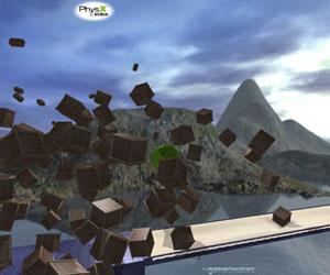 Balík PhysX aplikácií od Nvidie
