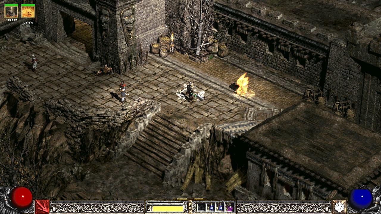 Hrajte Diablo II vo vysokom rozlíšení