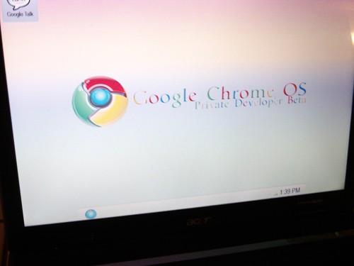 Prvé detaily Chrome OS