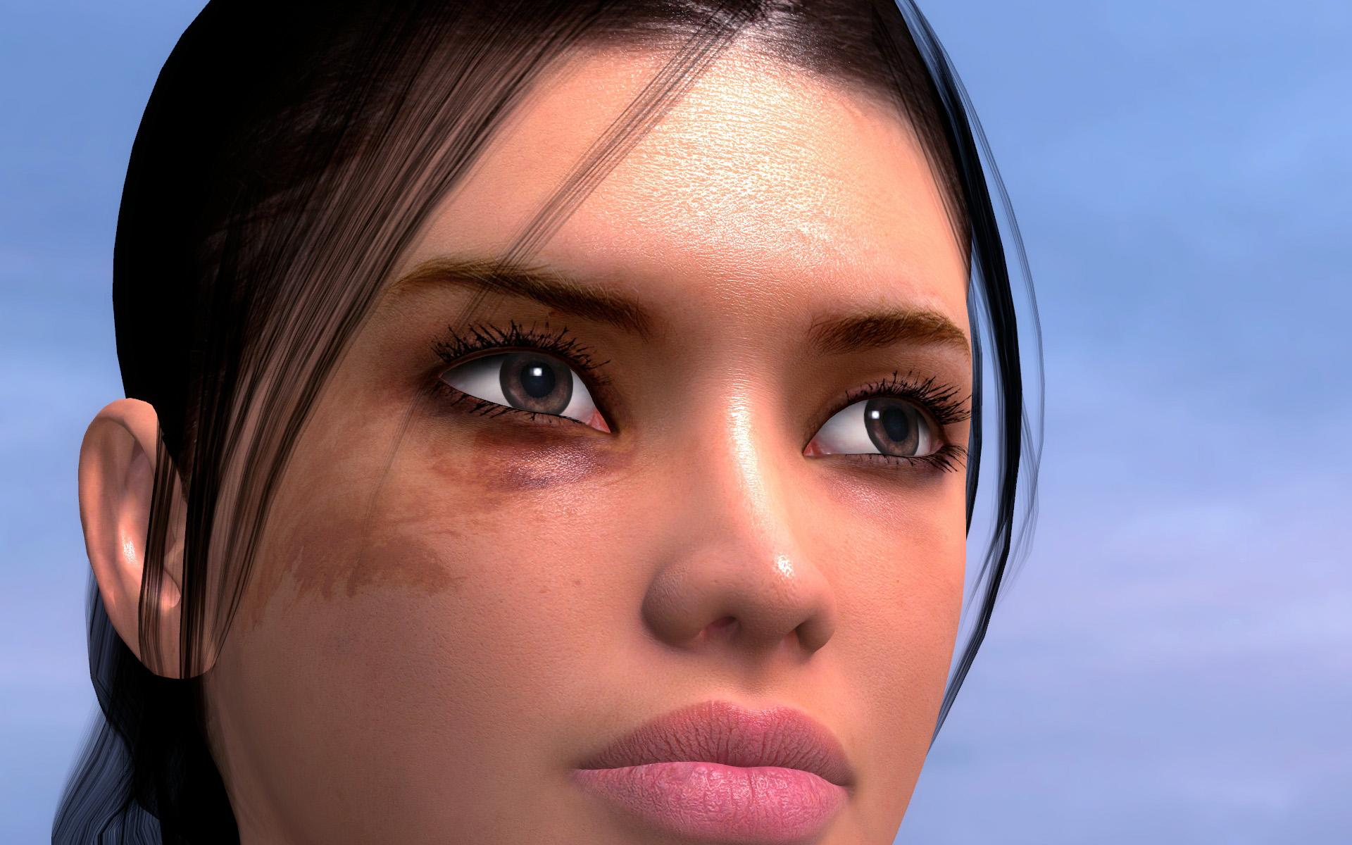 Detaily Alyx z Cinematic Modu 10