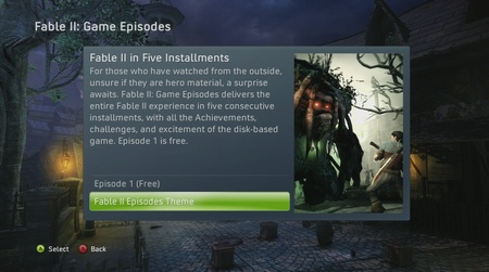 Fable II Episode I je online a free!