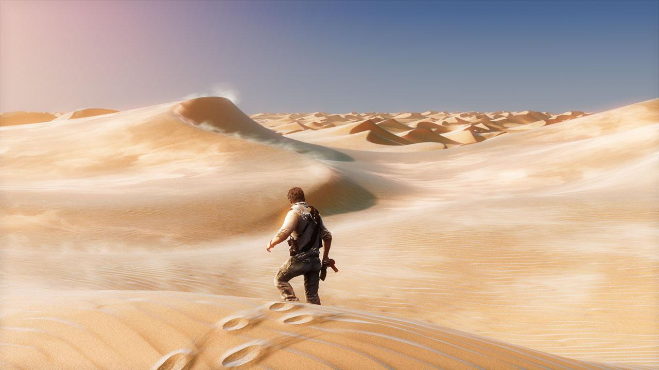 Uncharted 3 v pohybe
