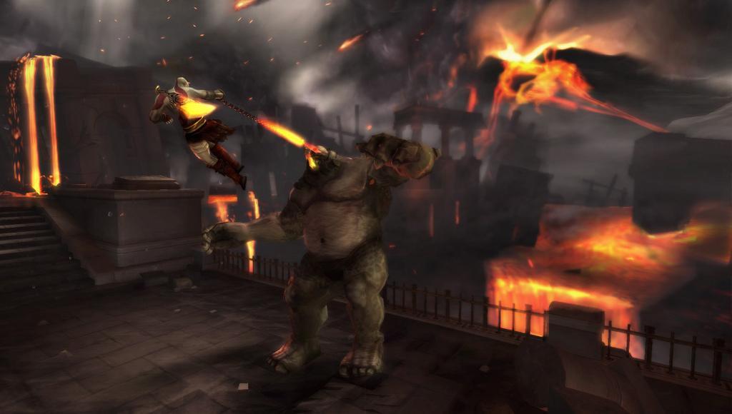 Kratos sa vracia na PSP