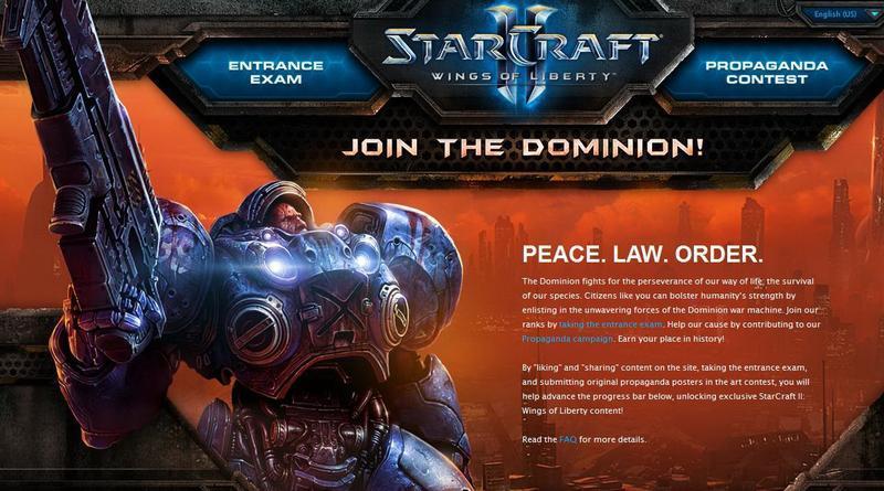 Vstúpte do Domínia so Starcraft II