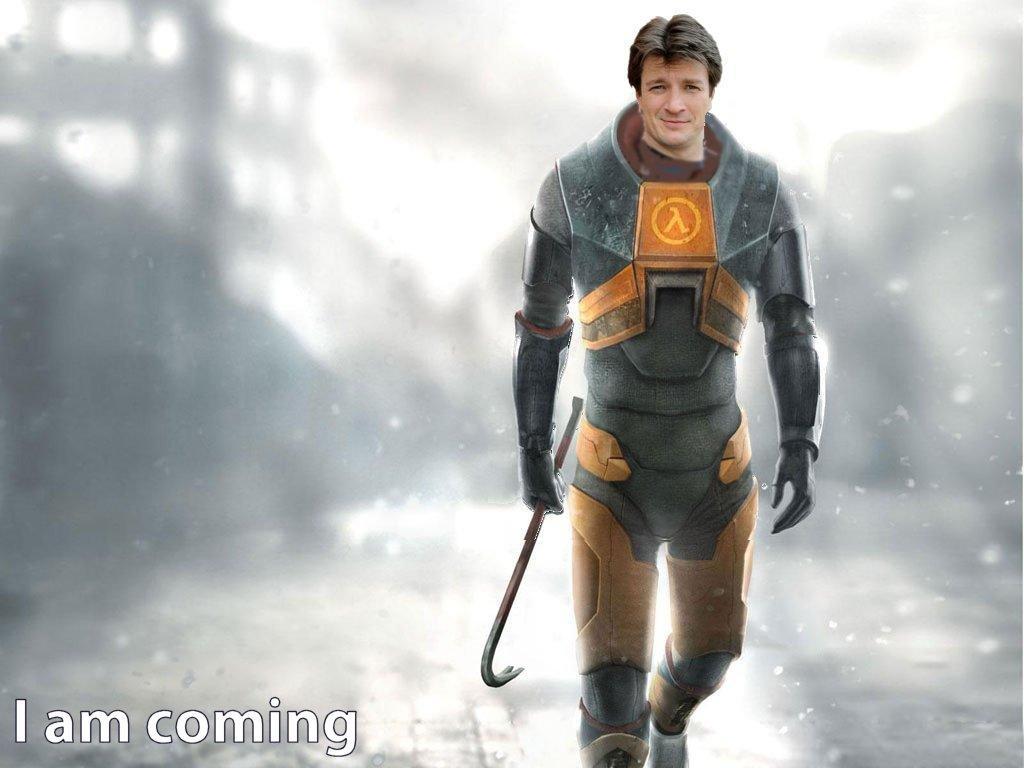Nathan Fillion bude Gordon Freeman!?
