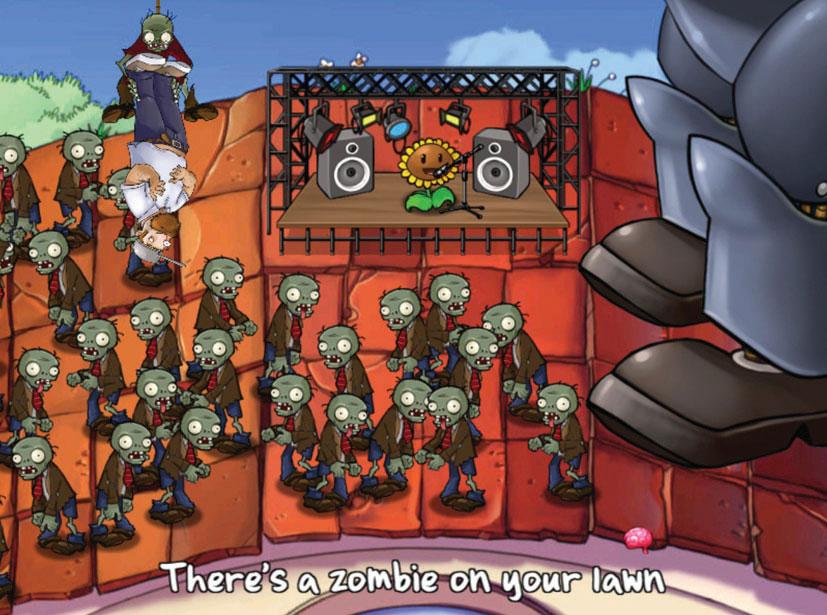 Plants vs Zombie rozšírený pre Xbox
