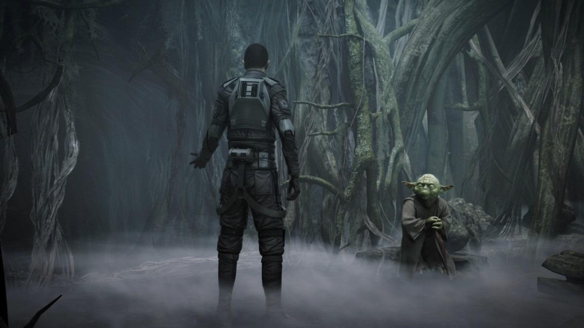 Yoda v Star Wars Force Unleashed 2