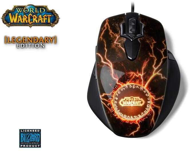 Legendárna myš pre WOW maniakov