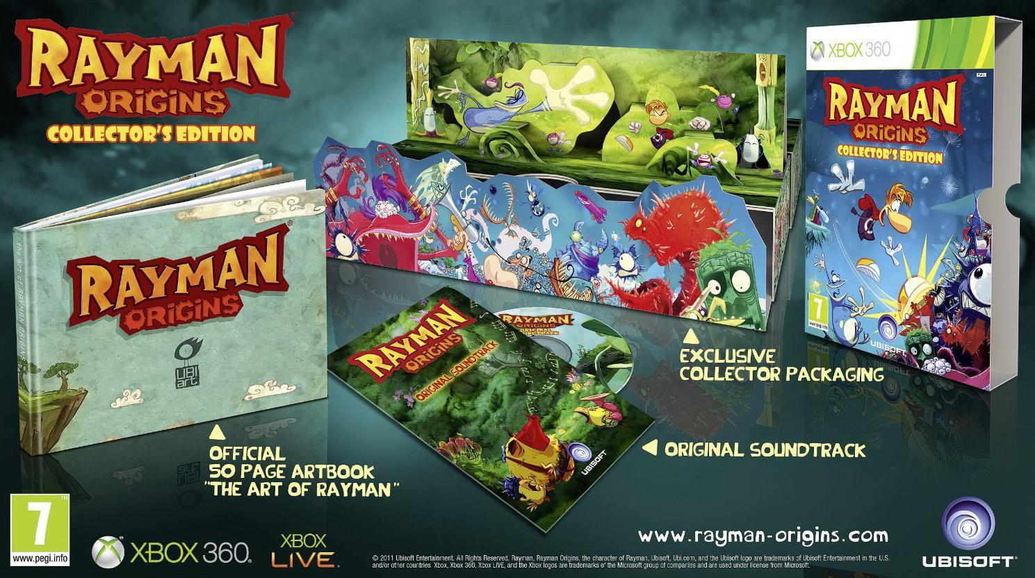 Zberateľská edícia Rayman Origins pre Európu