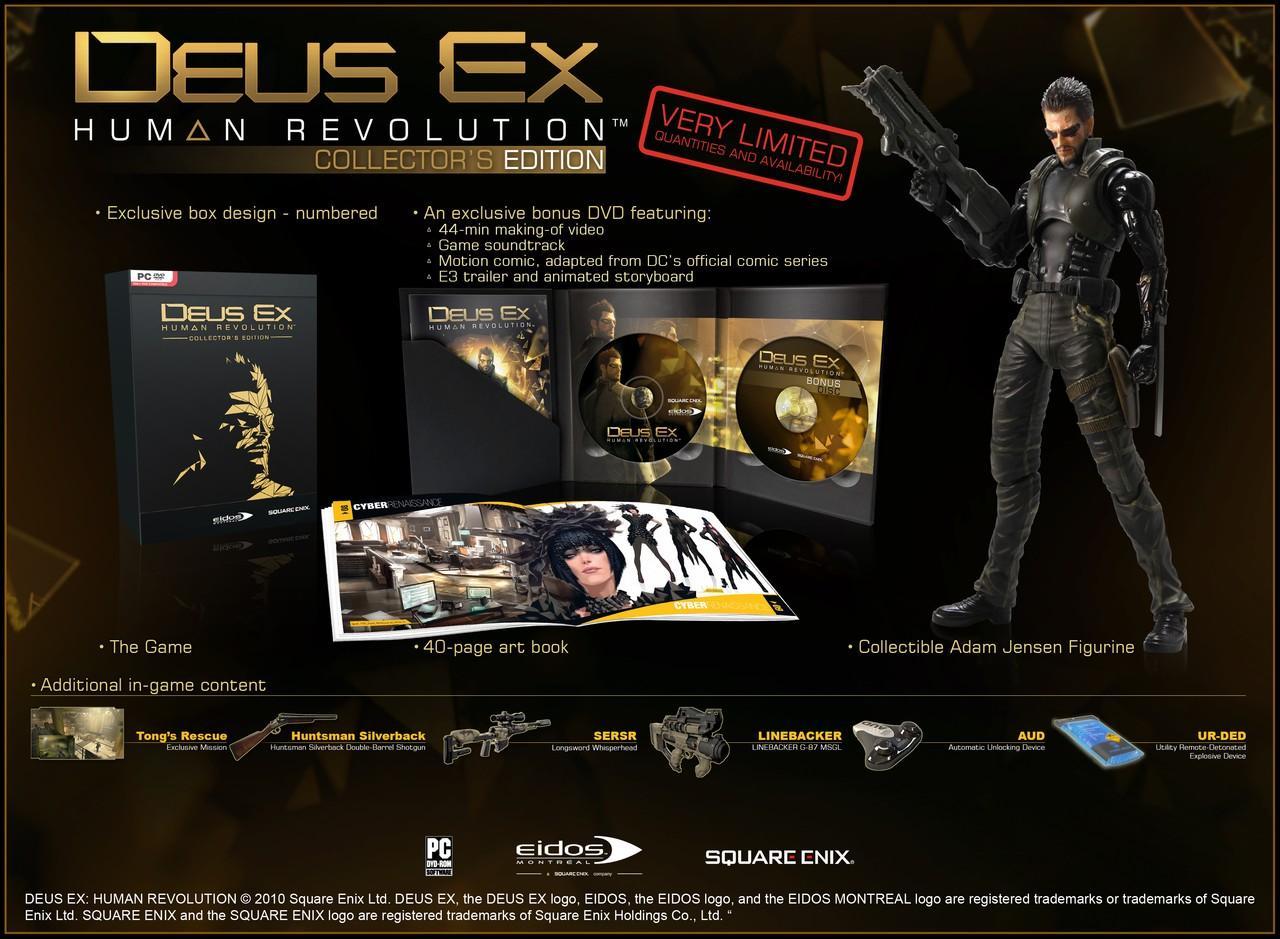 Zberateľská edícia Deus Ex Human Revolution
