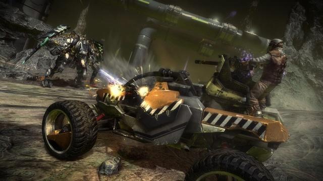 Interplanetárna vojna o energiu v Starhawk
