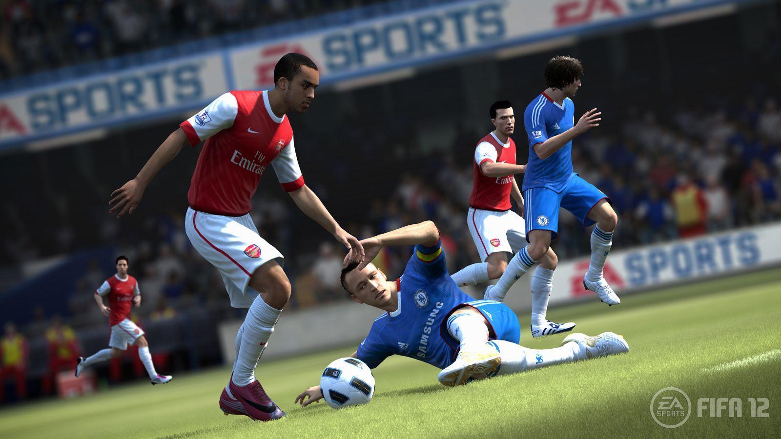 Fyzický kontakt na ihriskách FIFA 12