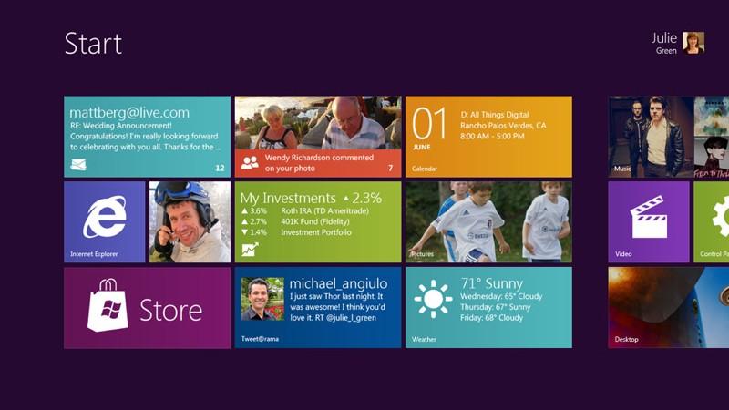 Microsoft predstavil Windows 8