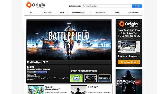 EA spustí svoju platformu