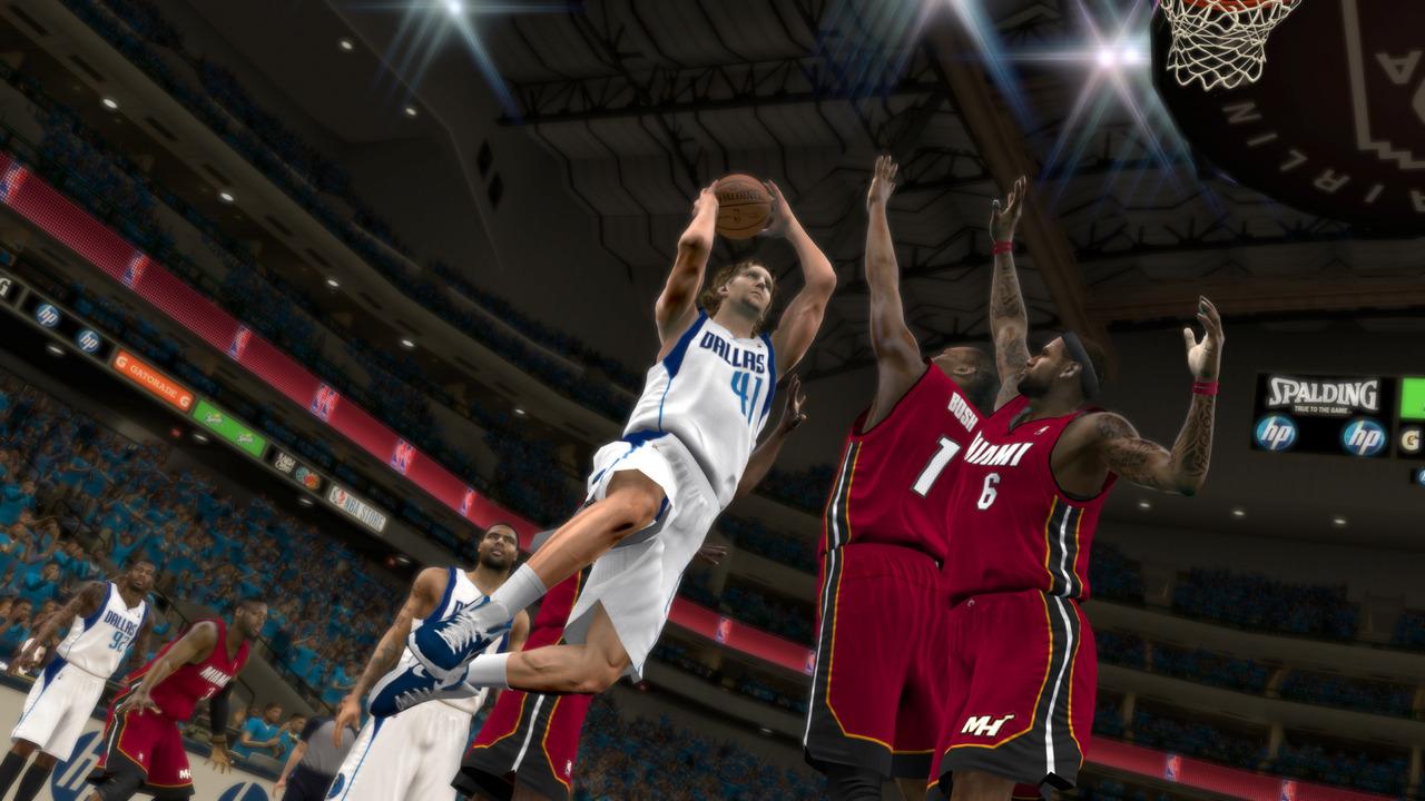 Prvý záber na NBA 2K12