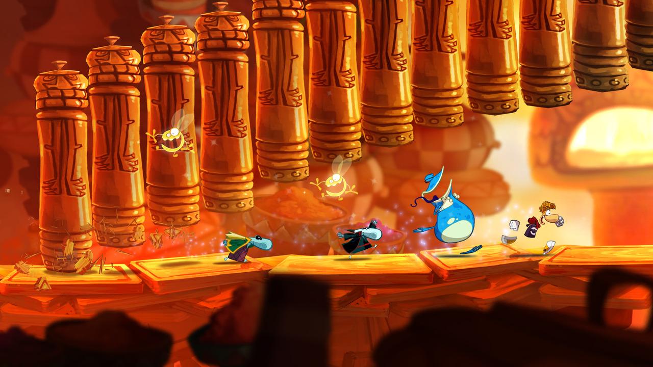 Naháňačka s Rayman Origins