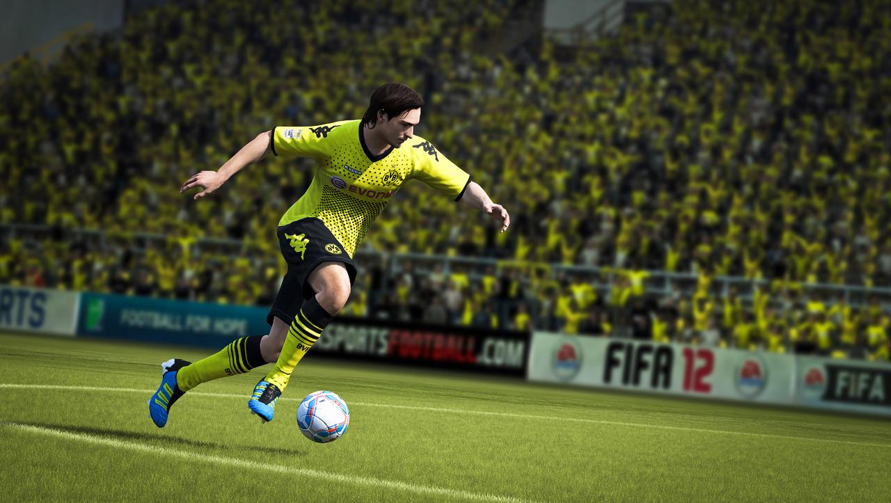Zábery na FIFA 12