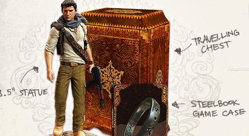 Nathan Drake rozbaľuje limitku Uncharted 3