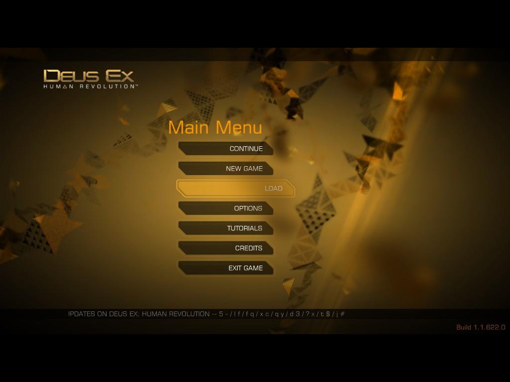 Zvláštny Deus Ex kód