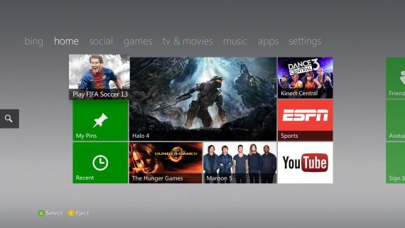 Xbox360 dashboard update vychádza dnes
