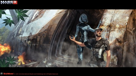 Arty z Mass Effect 3