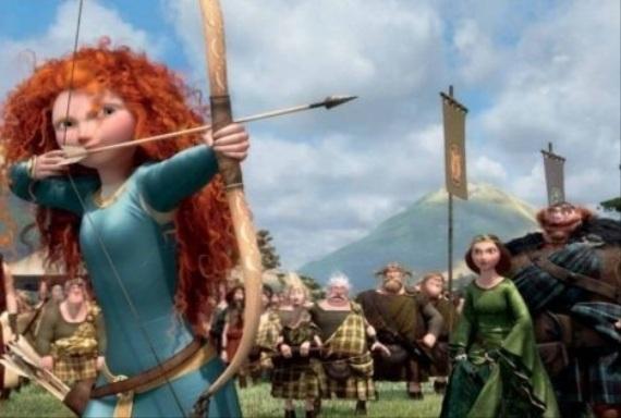 Statočná ryšavá hrdinka zachráni Škótsko