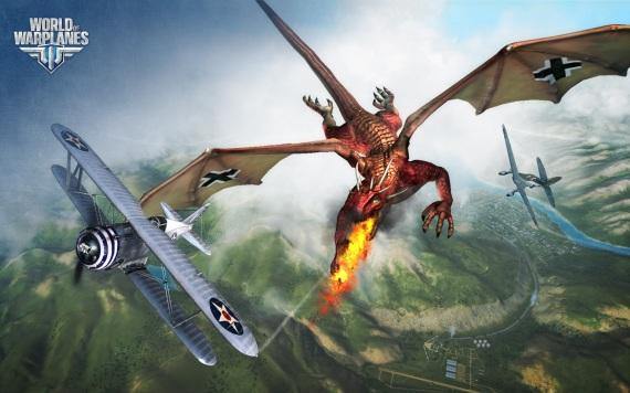 Dračie výstrelky vo World of Warplanes
