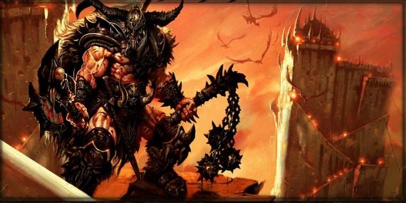 Prestrihové scény z Diablo III