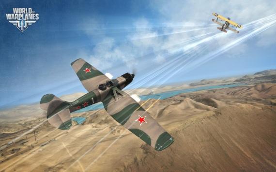Nálety vo World of Warplanes
