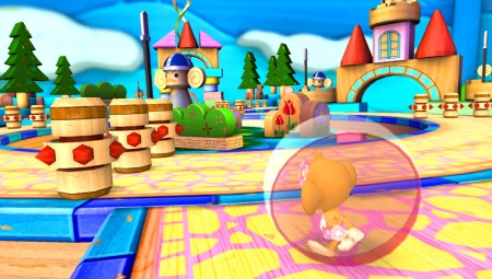 Super Monkey Ball Banana Splitz na jeseň
