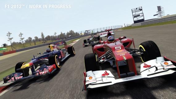 Prvé zábery z F1 2012