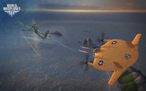 World of Warplanes predvádza ťažkú palebnú silu