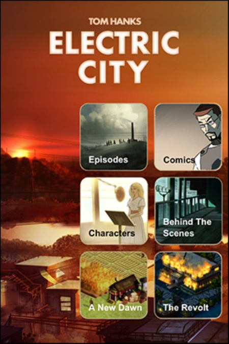 Tom Hanks má Electric City na iOS