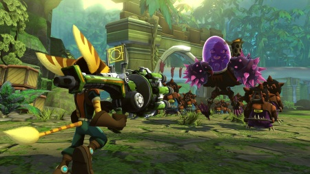 Tower defense hra Ratchet & Clank