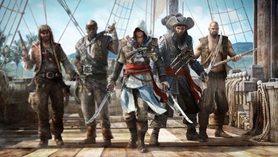 Porovnanie Assassins Creed 4 na PS3 a PS4