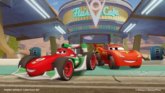 Disney Infinity - Cars pack playset predstavený