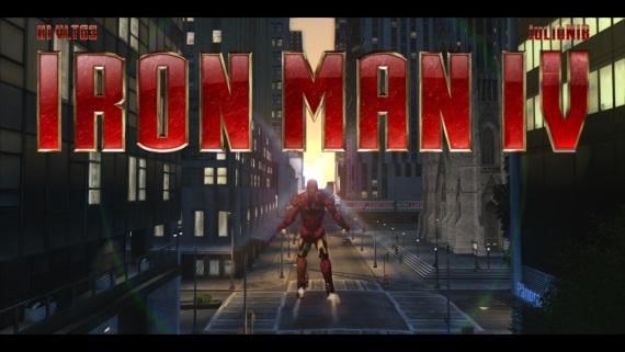 Iron Man mod pre GTA IV