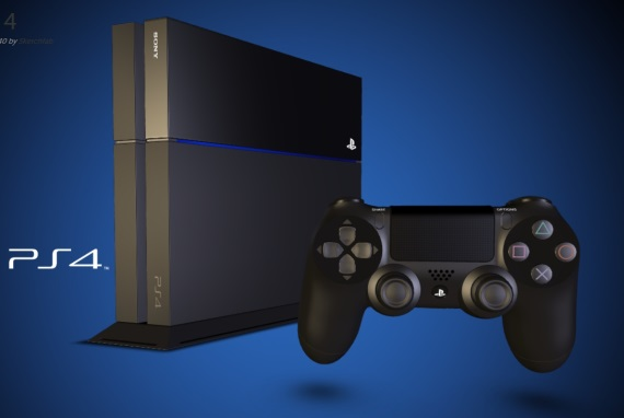 3D model PlayStation 4