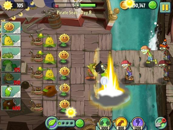 Plants vs Zombies 2 rozbehnú boje v čase