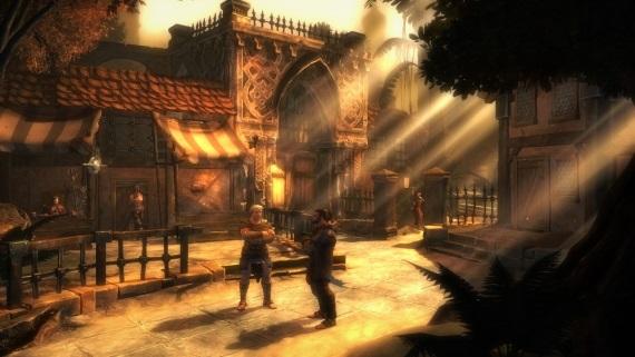 RPG Blackguards na hexagónovom poli