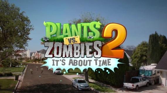 Plants vs Zombies 2 bol stiahnutý 25 miliónovkrát
