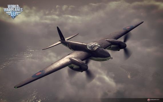 World of Warplanes má britské lietadlá