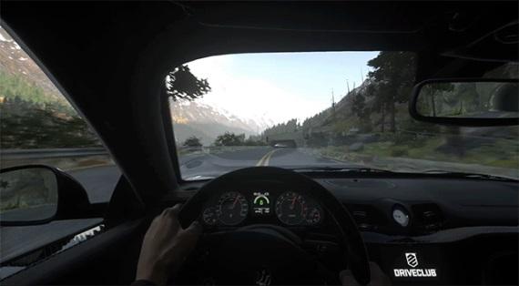Množstvo záberov z finálnej verzie hry DriveClub