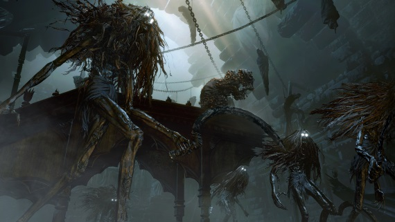 Bloodborne predstavuje ďalšieho lovca, vychádzkovú paličku i zberačku očných buliev