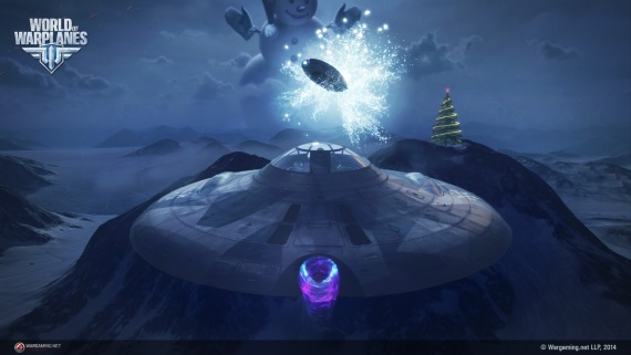 World of Warplanes sa cez Vianoce presunie nad Laponsko, UFO nechýba